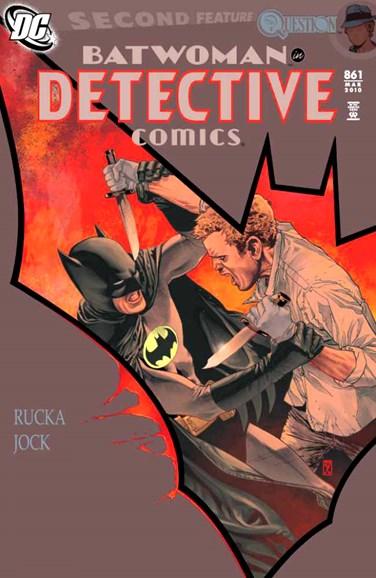Detective Comics Cover - 3/1/2010