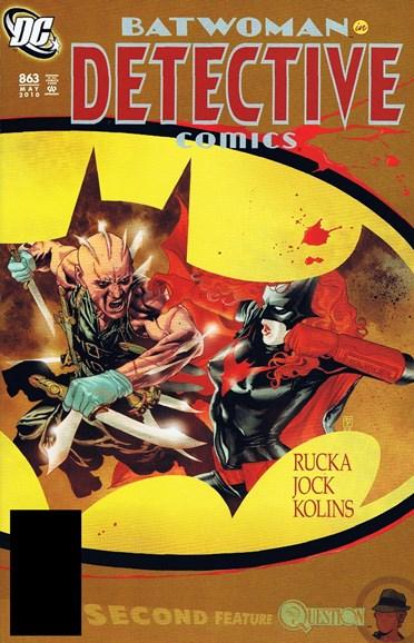 Detective Comics Cover - 5/1/2010