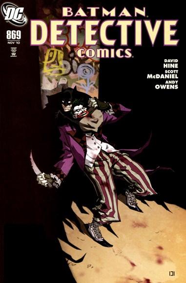 Detective Comics Cover - 11/1/2010