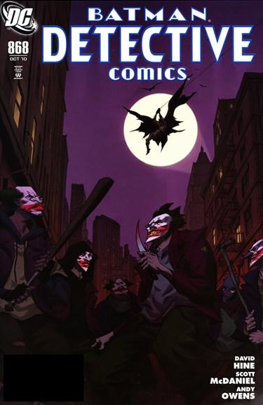 Detective Comics Cover - 10/1/2010