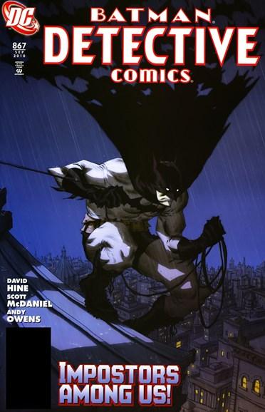 Detective Comics Cover - 9/1/2010