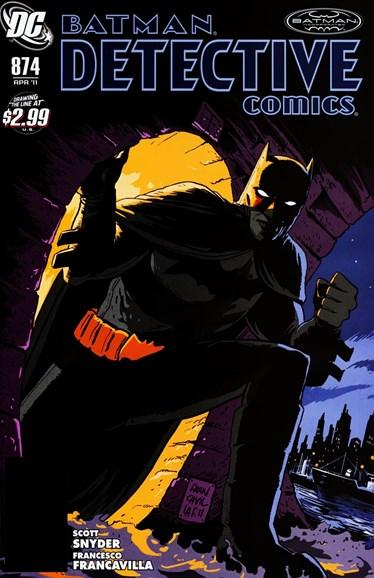 Detective Comics Cover - 4/1/2011