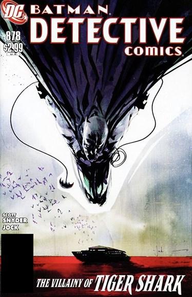 Detective Comics Cover - 8/1/2011