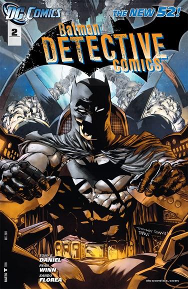Detective Comics Cover - 12/1/2011