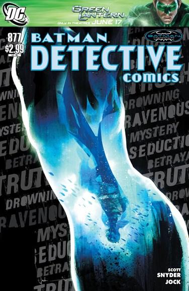 Detective Comics Cover - 7/1/2011