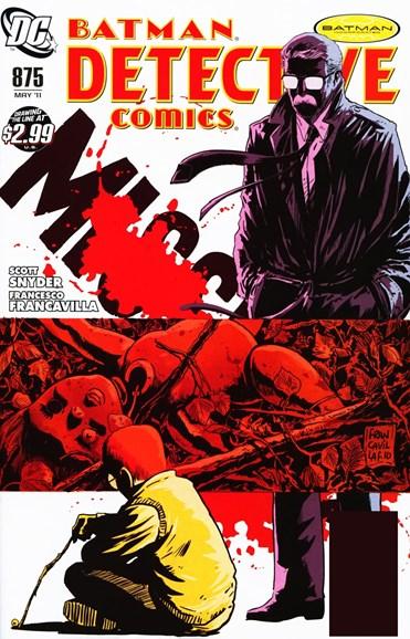 Detective Comics Cover - 5/1/2011