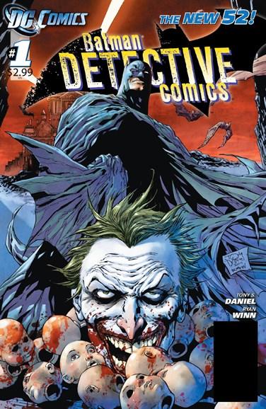 Detective Comics Cover - 11/1/2011