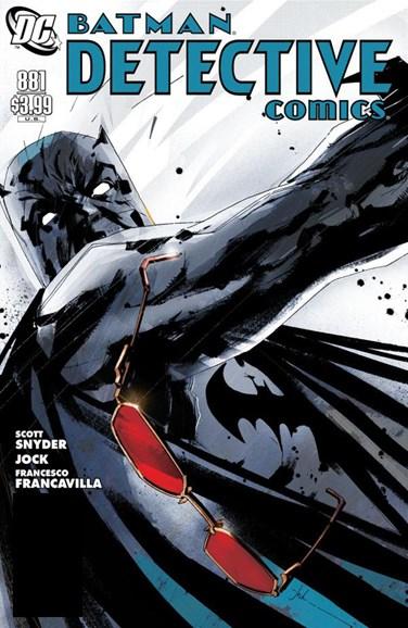 Detective Comics Cover - 10/1/2011
