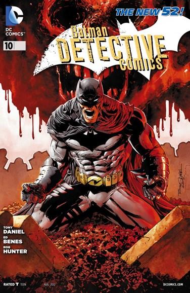 Detective Comics Cover - 8/1/2012