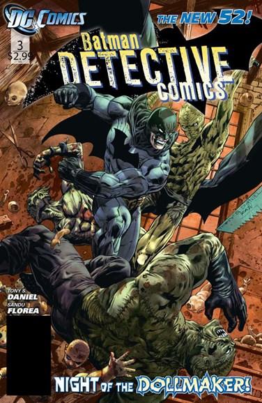 Detective Comics Cover - 1/1/2012