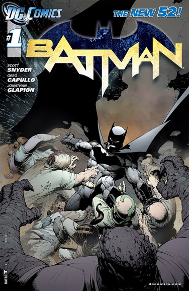 Batman Cover - 11/1/2011