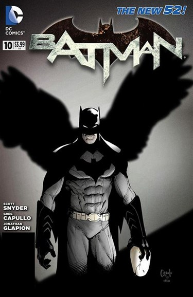 Batman Cover - 8/1/2012