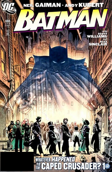 Batman Cover - 4/1/2009