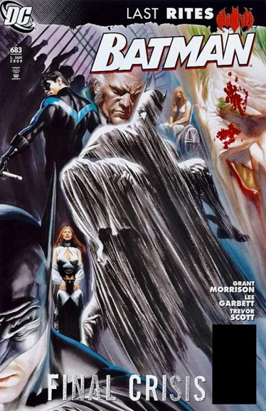 Batman Cover - 1/1/2009