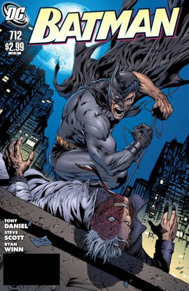 Batman Cover - 9/1/2011