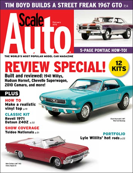 Scale Auto Magazine Cover - 2/1/2013