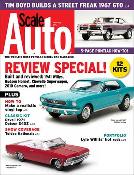 Scale Auto Magazine Cover - 2/1/2013