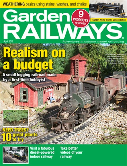 Garden Railways Cover - 4/1/2012