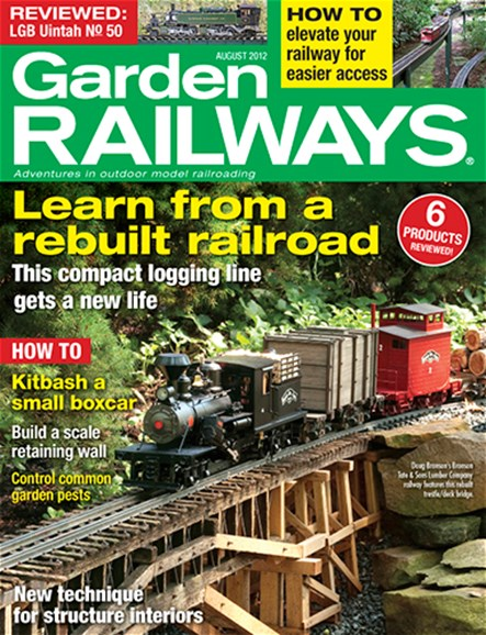 Garden Railways Cover - 8/1/2012