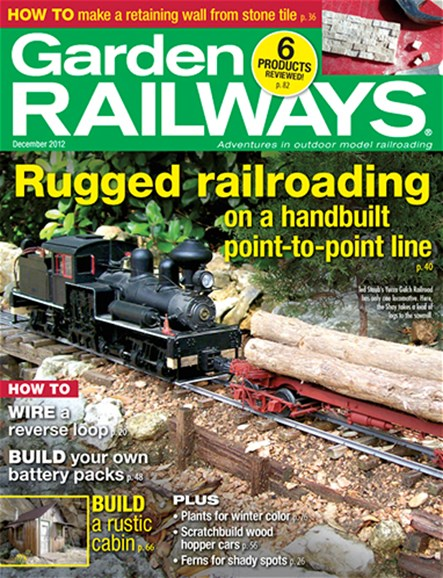 Garden Railways Cover - 12/1/2012