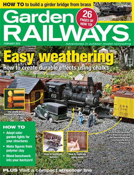 Garden Railways Cover - 2/1/2012