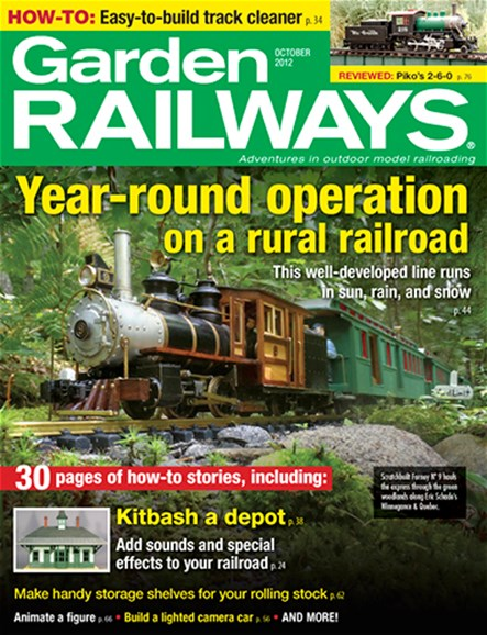 Garden Railways Cover - 10/1/2012