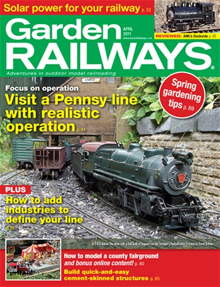 Garden Railways Cover - 4/1/2011