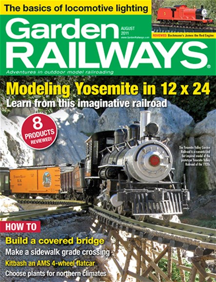 Garden Railways Cover - 8/1/2011