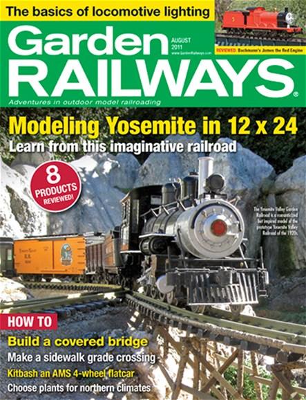 Garden Railways Cover - 8/1/2011