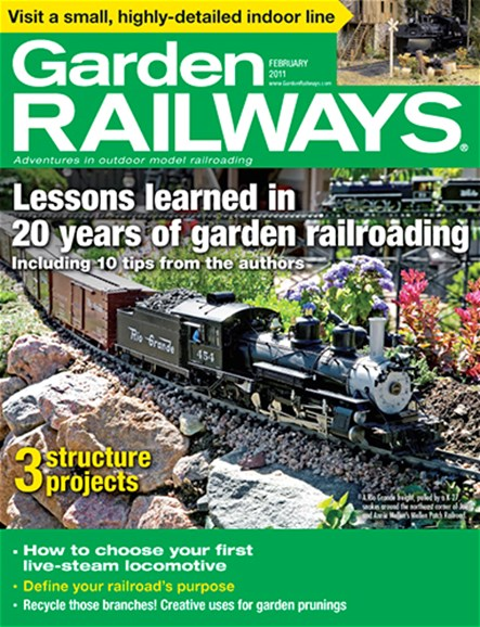 Garden Railways Cover - 2/1/2011