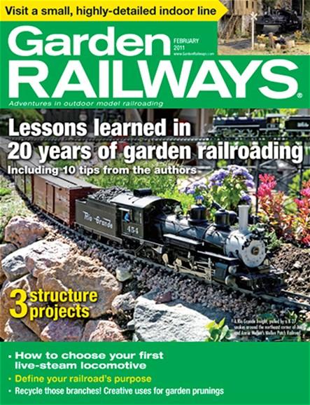 Garden Railways Cover - 2/1/2011
