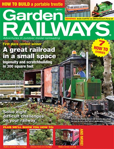 Garden Railways Cover - 6/1/2011
