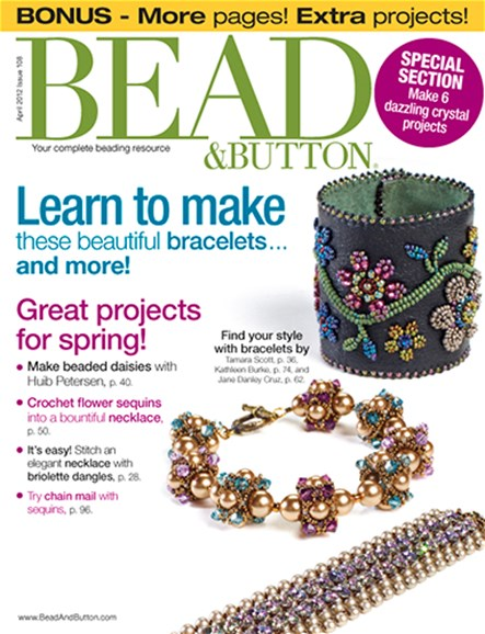 Bead & Button Cover - 4/1/2012