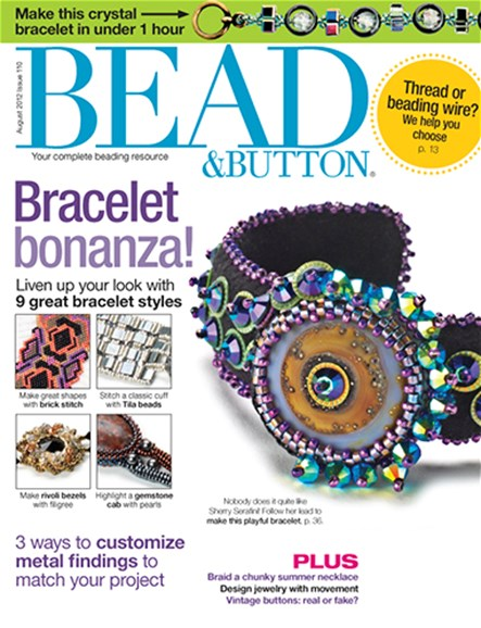 Bead & Button Cover - 8/1/2012
