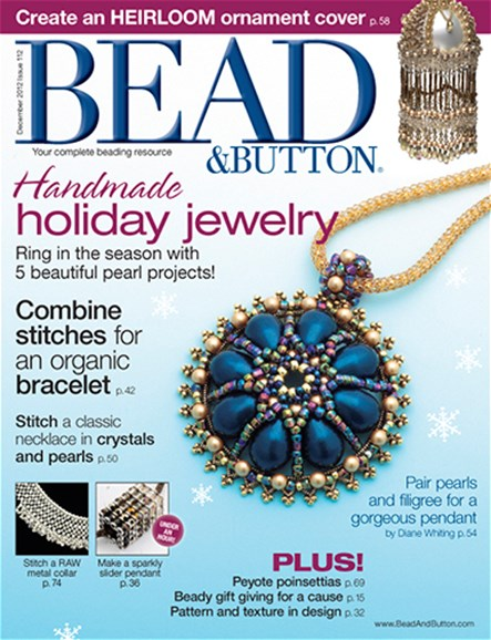 Bead & Button Cover - 12/1/2012