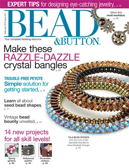 Bead & Button Cover - 2/1/2012