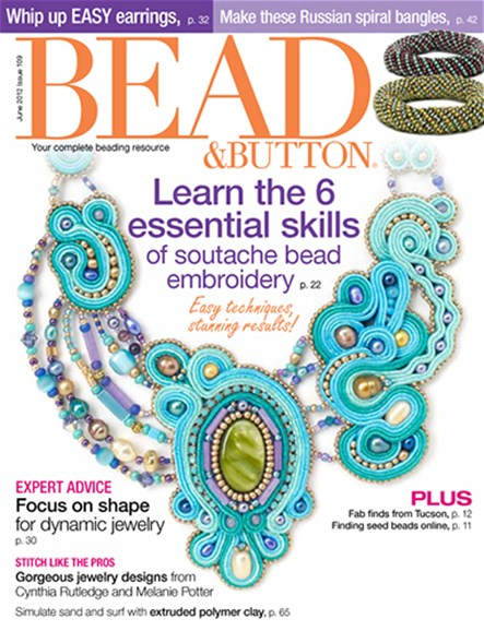 Bead & Button Cover - 6/1/2012