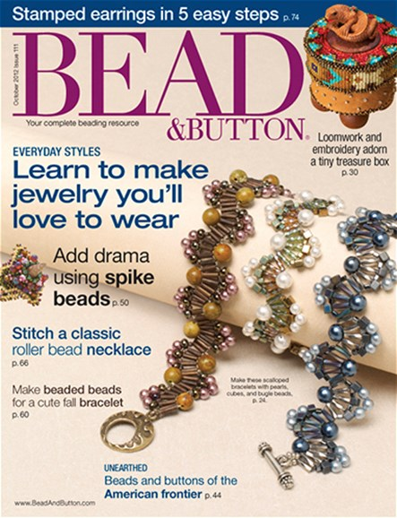 Bead & Button Cover - 10/1/2012