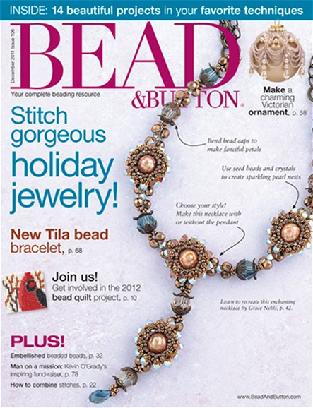 Bead & Button Cover - 12/1/2011