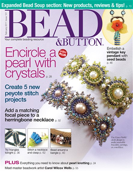 Bead & Button Cover - 2/1/2011