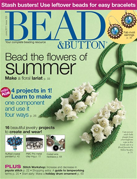 Bead & Button Cover - 6/1/2011