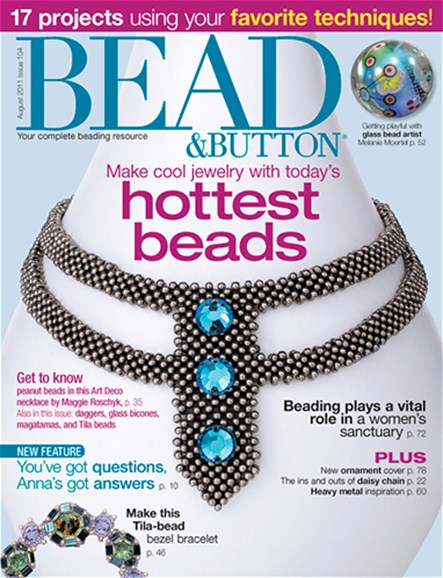 Bead & Button Cover - 8/1/2011
