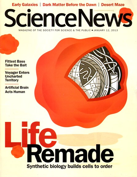 Science News Cover - 1/12/2013