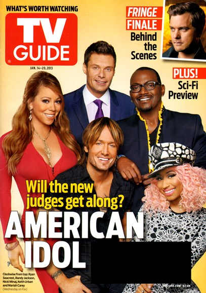 TV Guide Cover - 1/14/2013