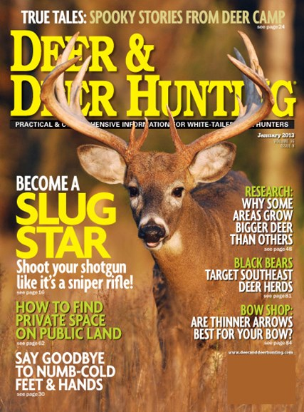 Deer & Deer Hunting Cover - 1/1/2013