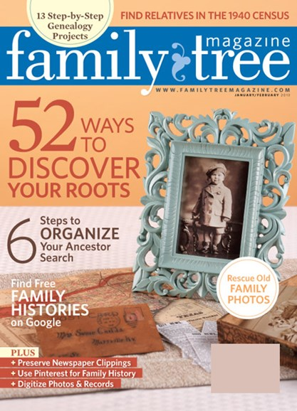 Family Tree Cover - 1/1/2013