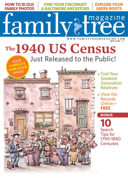 Family Tree Cover - 5/1/2012