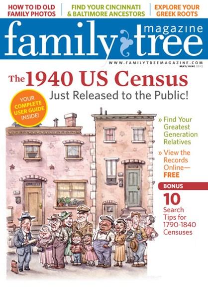 Family Tree Cover - 5/1/2012