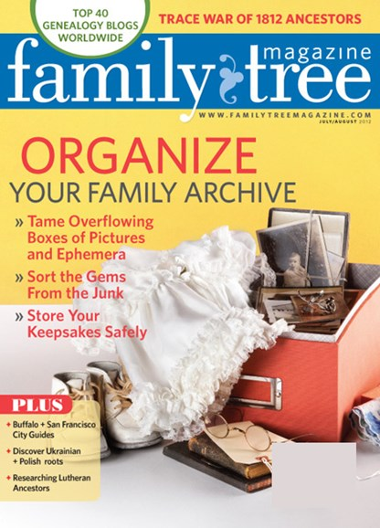Family Tree Cover - 7/1/2012