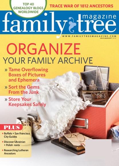 Family Tree Cover - 7/1/2012
